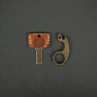 Keychains & Multi-Tools - VoxDesign Tiny Diamondback Snailor - Brass (Custom)