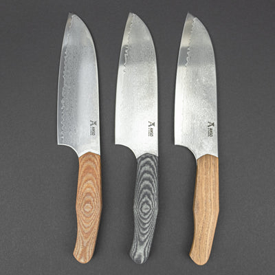 Kitchen - Anso Njord Santoku Knife - San Mai (Custom)
