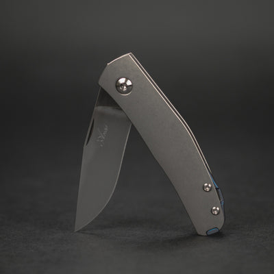 Knife - Anso Casino - Titanium W/ Kobolt Hardware (Custom)
