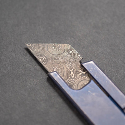 Knife - Anthony Griffin Damascus Utility Blade - Extra Custom 1