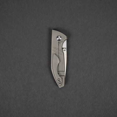 Knife - Brian Efros / Alliance Designs Ice Lite - Titanium (Exclusive)