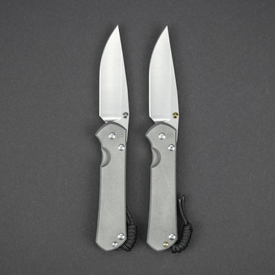 Knife - Chris Reeve Knives Large Sebenza 31 Drop Point - Double Lugs
