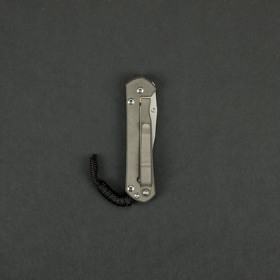 Knife - Chris Reeve Knives Small Sebenza 21 Drop Point CGG Chainmail