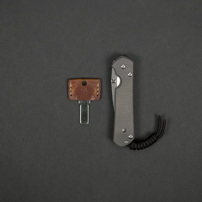 Knife - Chris Reeve Knives Small Sebenza 21 Drop Point CGG Doppler