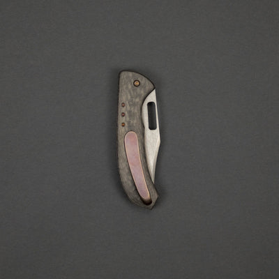Knife - Gedraitis Knives Mini Bowie - Carbon Fiber (Custom)