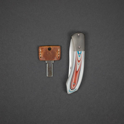 Knife - Gedraitis Knives Toucan Slipjoint - Fordite