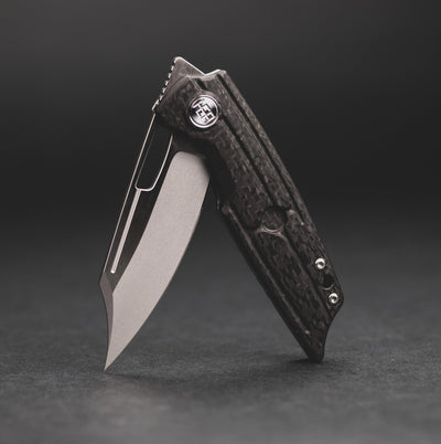 Knife - HEAdesigns Hunter - Carbon Fiber