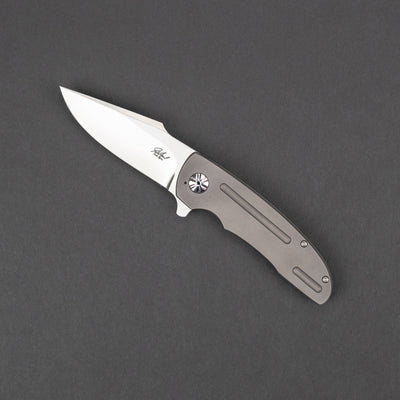 Knife - Jaco De Kock PL1 Mini - Titanium (Custom)