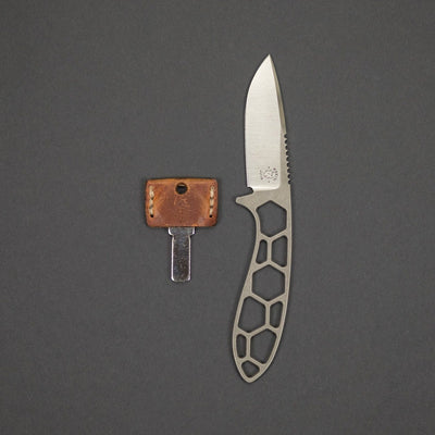 Knife - Krein Knives Coues Deer Hunter - D2 W/ Kydex Sheath (Custom)