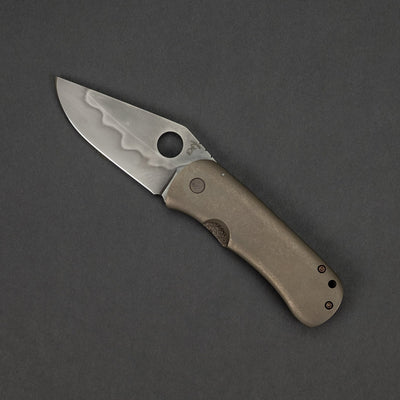Knife - McNees Dixon - Titanium (Custom)