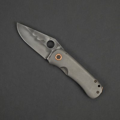 Knife - McNees Dixon - Titanium W/ Copper Accents (Custom)