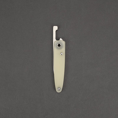 Knife - Michael Morris Knives Friction Folder - Jade G10 (Custom)