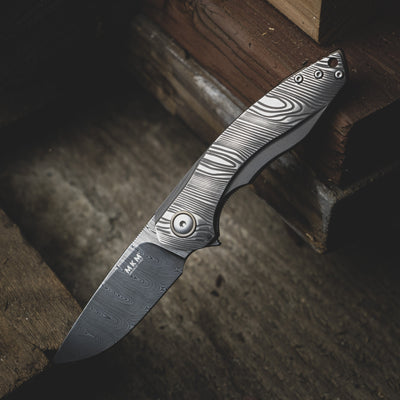 Knife - MKM Voxnaes Timavo - Damasteel