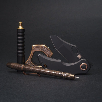 Knife - Olamic Busker - Gusto Olamic Black
