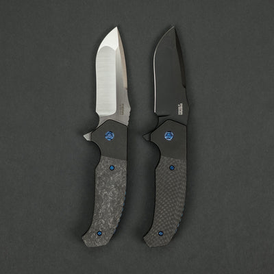 Knife - Peña X Series Mini Diesel - Carbon Fiber