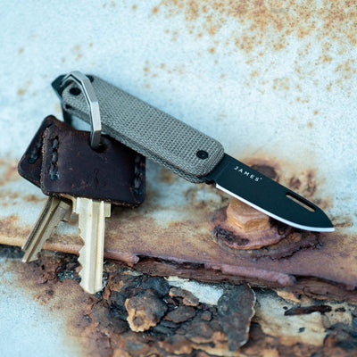 Pre-Order: James Brand Elko - OD Green Micarta (Exclusive) (Pre-Order ends 10/31, Ships Mid November)