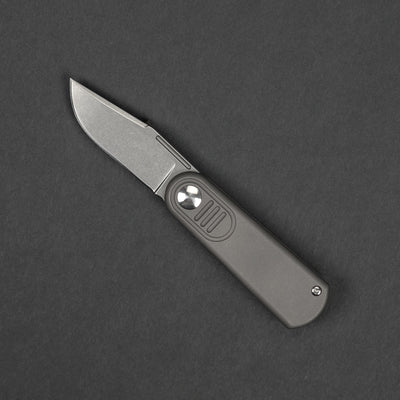 Knife - Pre-Order: Lundquist Baby Barlow - Titanium (Urban Series) (Ships Early November)