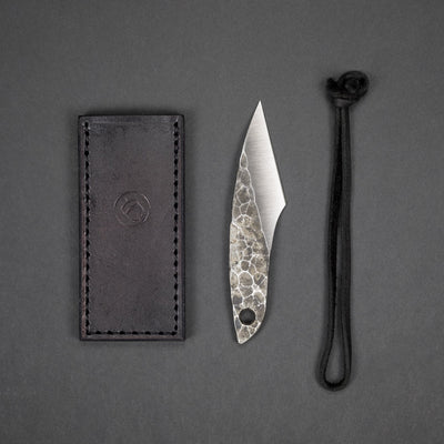 Knife - Pre-Order: Origin Handcrafted Goods Small Kiridashi Fixed Blade Pocket Knife (Pre-Order Ends 3/1, Ships Mid-April)