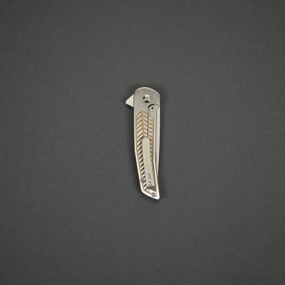 Knife - Pre-Order: Pat Hammond Scout - Titanium (Exclusive & Limited) (Ships End Of March)