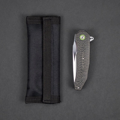 Knife - Pre-Owned: A2 Knives A5 - Carbon Fiber (Custom)