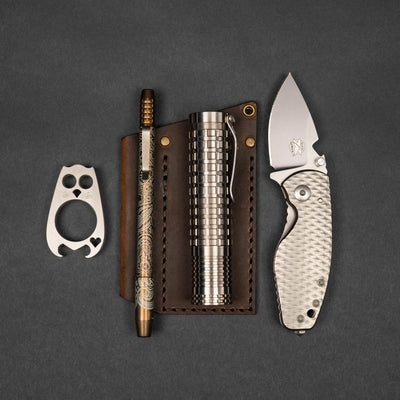 Knife - Pre-Owned: DPx HEAT/F Frame Lock Knife 3D Titanium (Limited Edition)