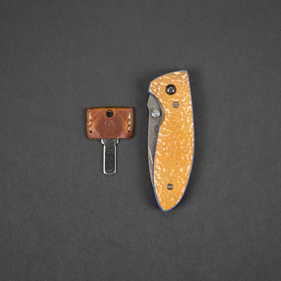 Knife - Pre-Owned: Krein Knives Alpha - Copper (Custom)