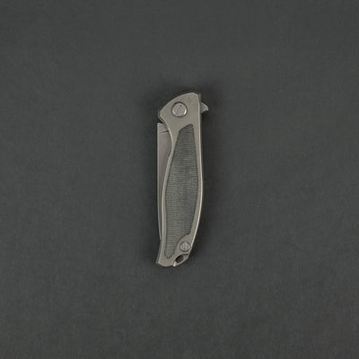 Knife - Pre-Owned: Shirogorov Knives F95NL Gray Micarta Inlay (Custom)