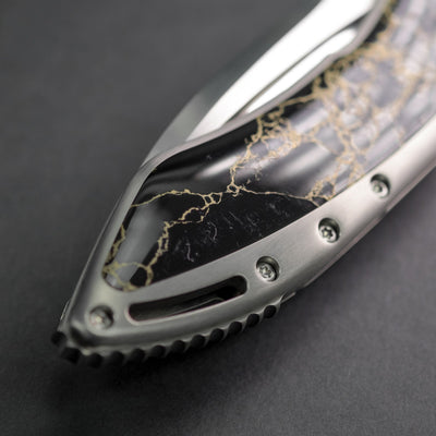Knife - Pre-Owned: Todd Begg Glimpse - Recon Stone (Custom)