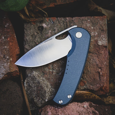 Knife - Quiet Carry Drift - Ti Blue (Exclusive)