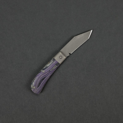Knife - Taylor Made Slipjoint - Unique Micarta (Custom)