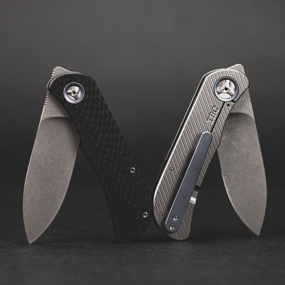 Knife - Trevor Burger EXK CFL - Drop Point Carbon Fiber (Custom)