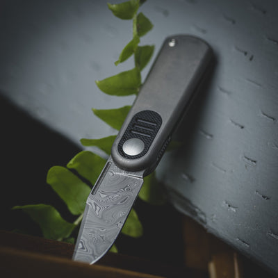 Knife - Urban Series Baby Barlow - Damascus & Black G10 (Exclusive)