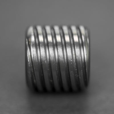 Lanyard Bead - Pre-Owned: AFK Twist Bead - Zirconium