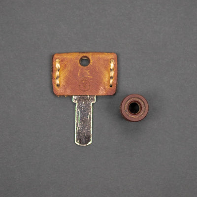 Lanyard Bead - Pre-Owned: Scoopyloops Large - Natural Micarta