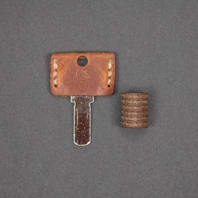 Lanyard Bead - Pre-Owned: Scoopyloops OG - Natural Micarta