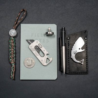 Fiddle Foundry EDC Pocket Top One - Stainless Steel