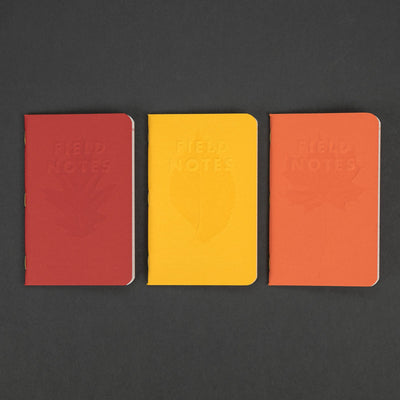 Notebook - Field Notes Autumn Trilogy (Limited)