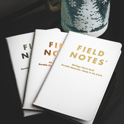 Notebook - Field Notes Group Eleven - 3 Pack (Limited)