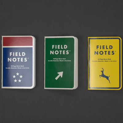 Notebook - Field Notes - Mile Marker (Limited Edition) - 3 Pack