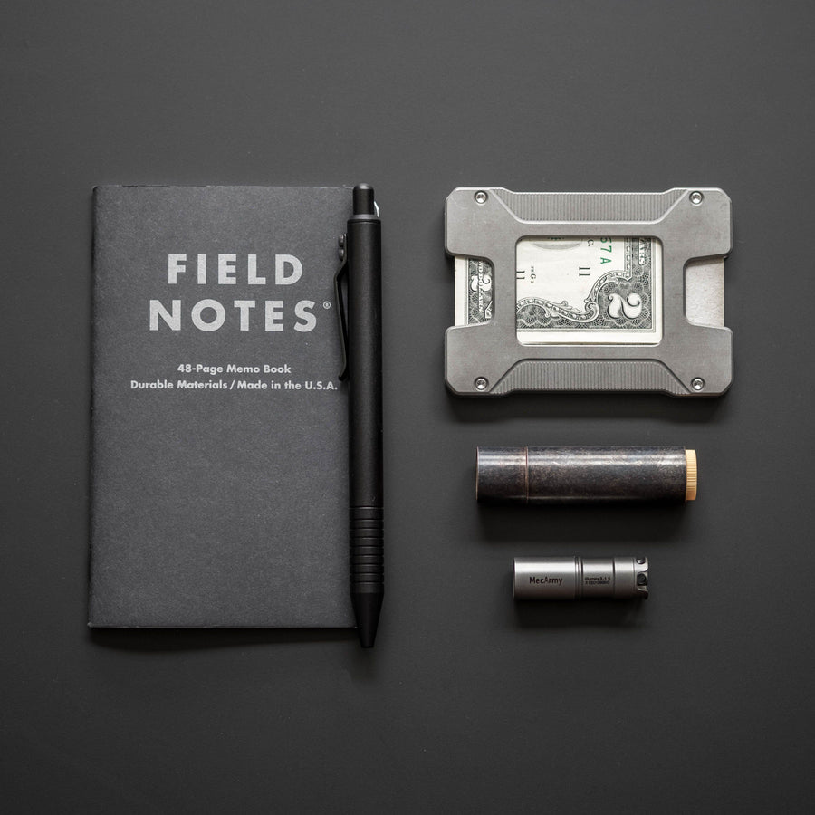 Field Notes - Pitch Black Memo Book - 3 Pack