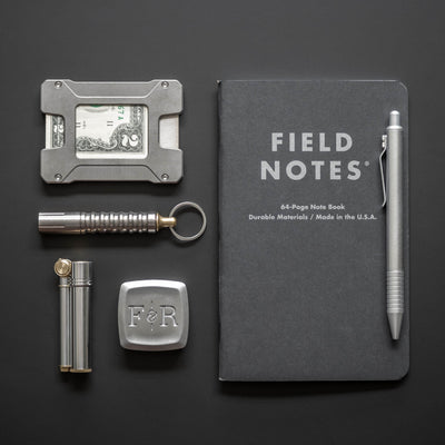Field Notes - Pitch Black Note Book - 2 Pack