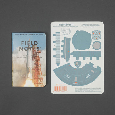 Notebook - Field Notes - Three Missions (Limited Edition) - 3 Pack