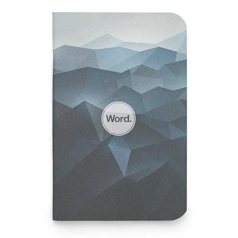 Word. Notebooks (Blue Mountain) - 3 Pack