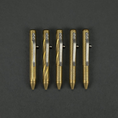 Pen - Fellhoelter TiNy Bolt Pen - Brass
