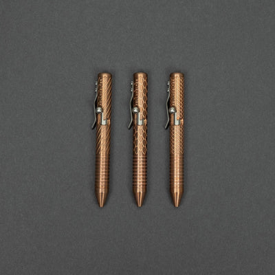 Fellhoelter TiNy Pen - Engraved Copper
