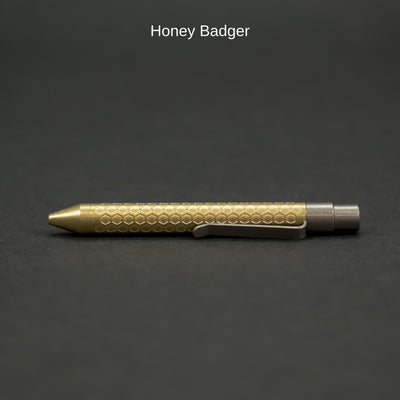 Pen - Nottingham Tactical TiClicker G2 Mini - Brass