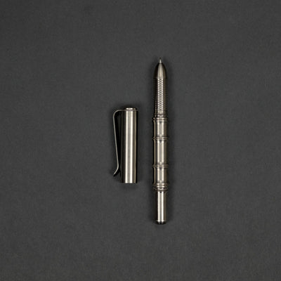 Pen - Pre-Owned: Prometheus Bamboo Pen - Titanium