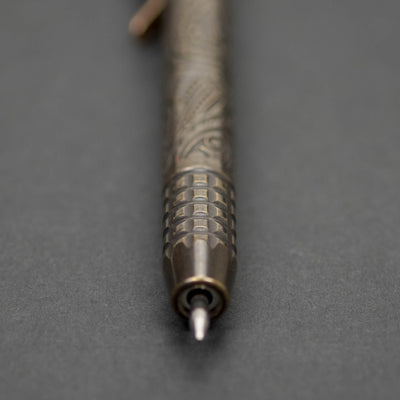 Pen - Ti2 Design Techliner Shorty - Brass