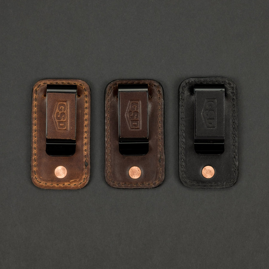 Greg Stevens Design Carry Strong Money Clip - Leather (Exclusive)