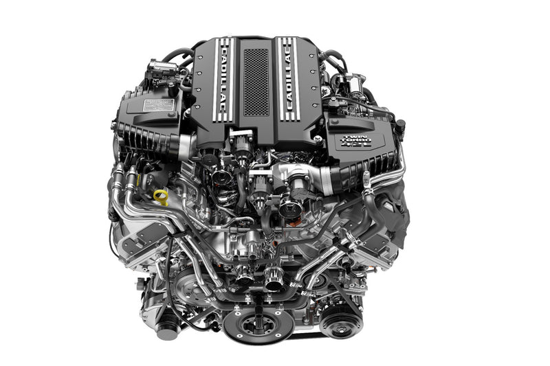 Cadillac First-Ever Twin-Turbo V-8 Engine